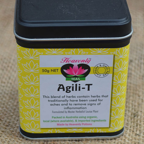 Driedherbsonline Agili Tea – If it's hot and there is painful inflammation here is the herb tea for you.