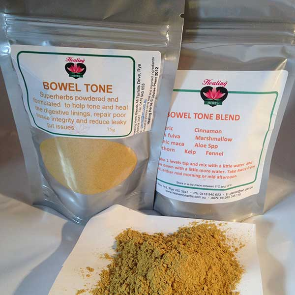 Bowel Tone - Soothes and helps repair tissue integrity