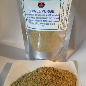 driedherbsonline bowel tone Bowel purge is a collection of herbs formulated to clean and purge the bowels, balance pH, support gut linings and retrain the bowel functioning.