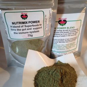 Driedherbsonline Nutrimix Power Blend – A superherb gut and immune tonic that will also aid the process of elimination